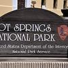 Hot Springs National Park entrance