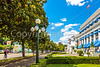 Cyclist(s) in downtown Hot Springs, Arkansas - C3-01155 - 72 ppi