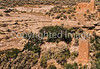 Hiker at Hovenweep National Monument on Utah-Colorado border - 12 - 72 ppi