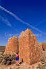 Hiker at Hovenweep National Monument on Utah-Colorado border - 22 - 72 ppi