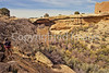 Hiker at Hovenweep National Monument on Utah-Colorado border - 4 - 72 ppi