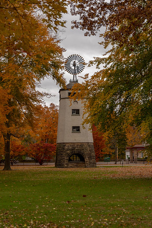 Windmill in the Fall