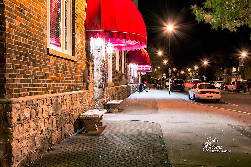 Jasper 10/04/2013:  Spent the evening in downtown Jasper doing some night shooting.