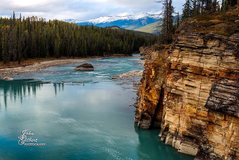 Athabasca Falls Canyon