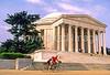 Bikers at Jefferson Memorial on Tidal Basin - 72 dpi-19