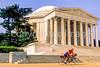 Bikers at Jefferson Memorial on Tidal Basin - 72 dpi-8
