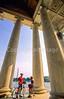 Bikers at Jefferson Memorial on Tidal Basin - 72 dpi-12