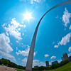 Arch from an angle - can you tell I like my new fisheye lens?