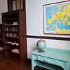 More of Miss Julia's classroom.  Note the map of Europe circa 1937.