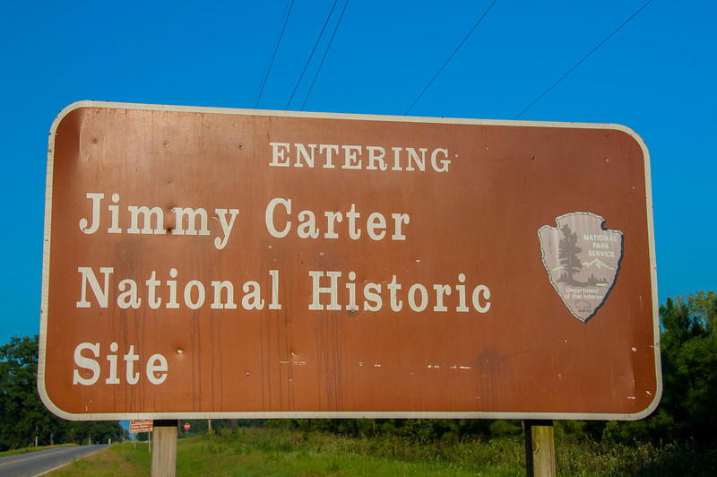 Jimmy Carter National Historic Site entrance