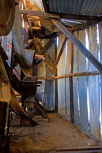Interior of Wall Street Mill...