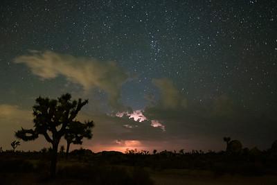 Desert Lightshow