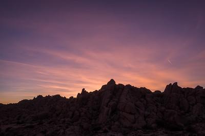 Boulders at Dusk