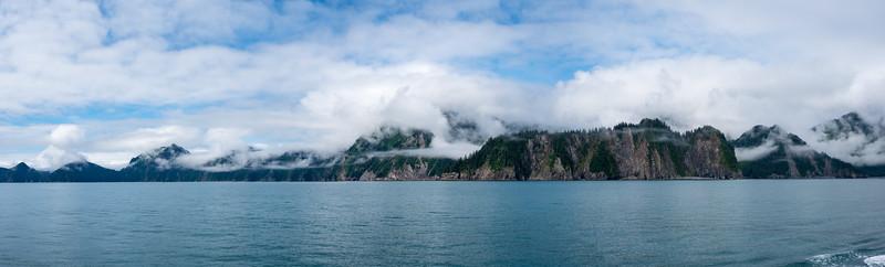 Peninsula Under Clouds