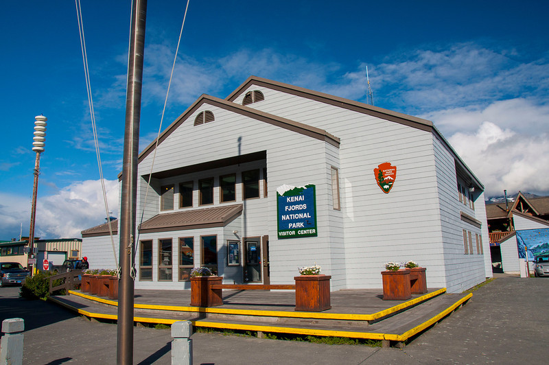 Kenai Fjords National Park visitor's center - located in the town of Seward
