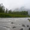 Glacial melt runoff