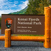 Kenai Fjords National Park entrance