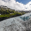 One more glacier shot before we head to see more glaciers in Glacier National Park. This is a shot of Exit Glacier in Kenai Fjords National Park in Alaska. This was as close as we got to a glacier on our Alaskan cruise trip. If we had been there later in the summer we could have taken a ranger led hike out onto the icefield that form the glacier, but we'll have to save that for another trip.