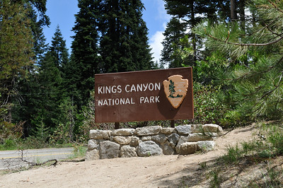 Kings Canyon entrance