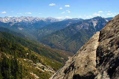 Moro Rock in Sequoia National Park in September 2010.
