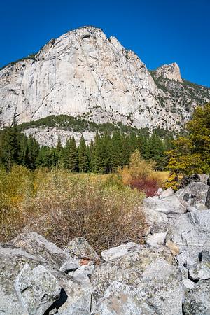 Mountain Landscape Vista at Kings Canyon National Park