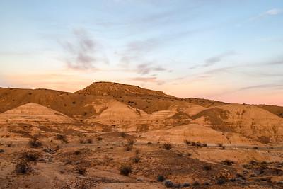 Dusk At Desert's Edge