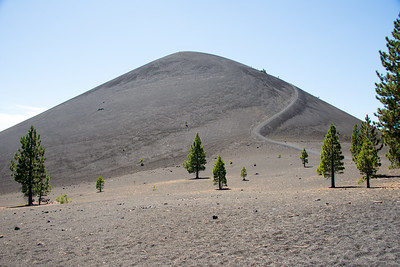Cinder Cone, Lassen Volcanic National Park, California in August 2014.
