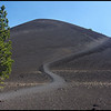 Trail to the top of Cinder Cone