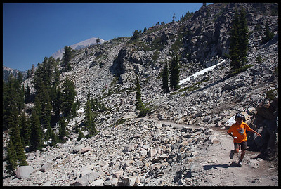 Hiking the Bumpass Hell Trail