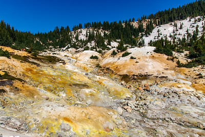 Chemically Scarred Hillside