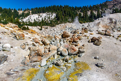 A Collection Of Colorful Boulders