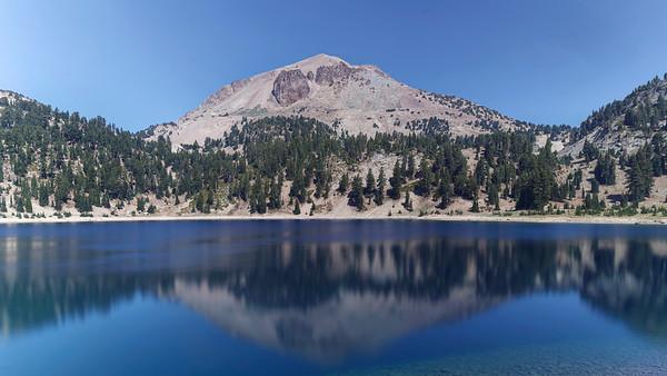 Lassen in a Lake