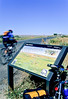 Cyclist at Little Bighorn Battlefield Nat  Monument in Montana - 4 - 72 ppi