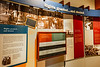 Displays inside visitor center of Little Rock Central High School National Historic Site, Arkansas - _1C30070 - 72 ppi