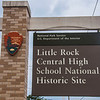 Little Rock Central High School National Historic Site entrance
