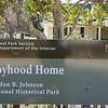 Lyndon's boyhood home