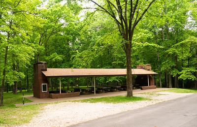 A picnic pavilion.