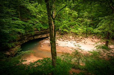 River Styx cave entrance.