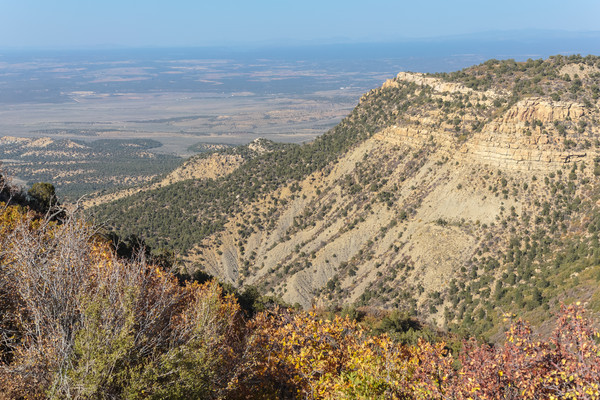 Access Road to Mesa Verde National Park