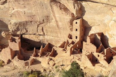 Ancient Indian Ruins at Navajo Canyon