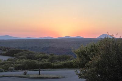 Access Road to Mesa Verde National Park, Colorado USA
