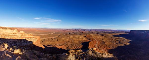 Moki Dugway Panorama