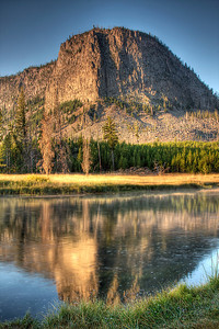 Morning Light in Yellowstone National Park