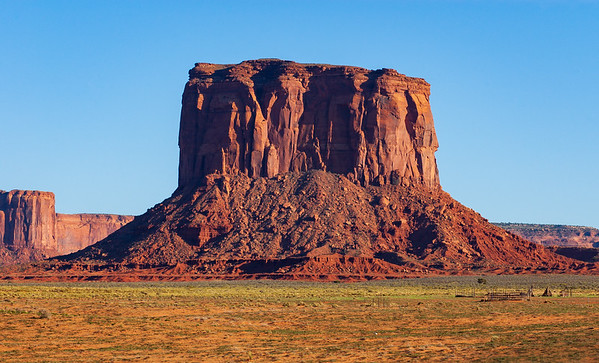 Square Butte at Monument Valley Navajo Tribal Park