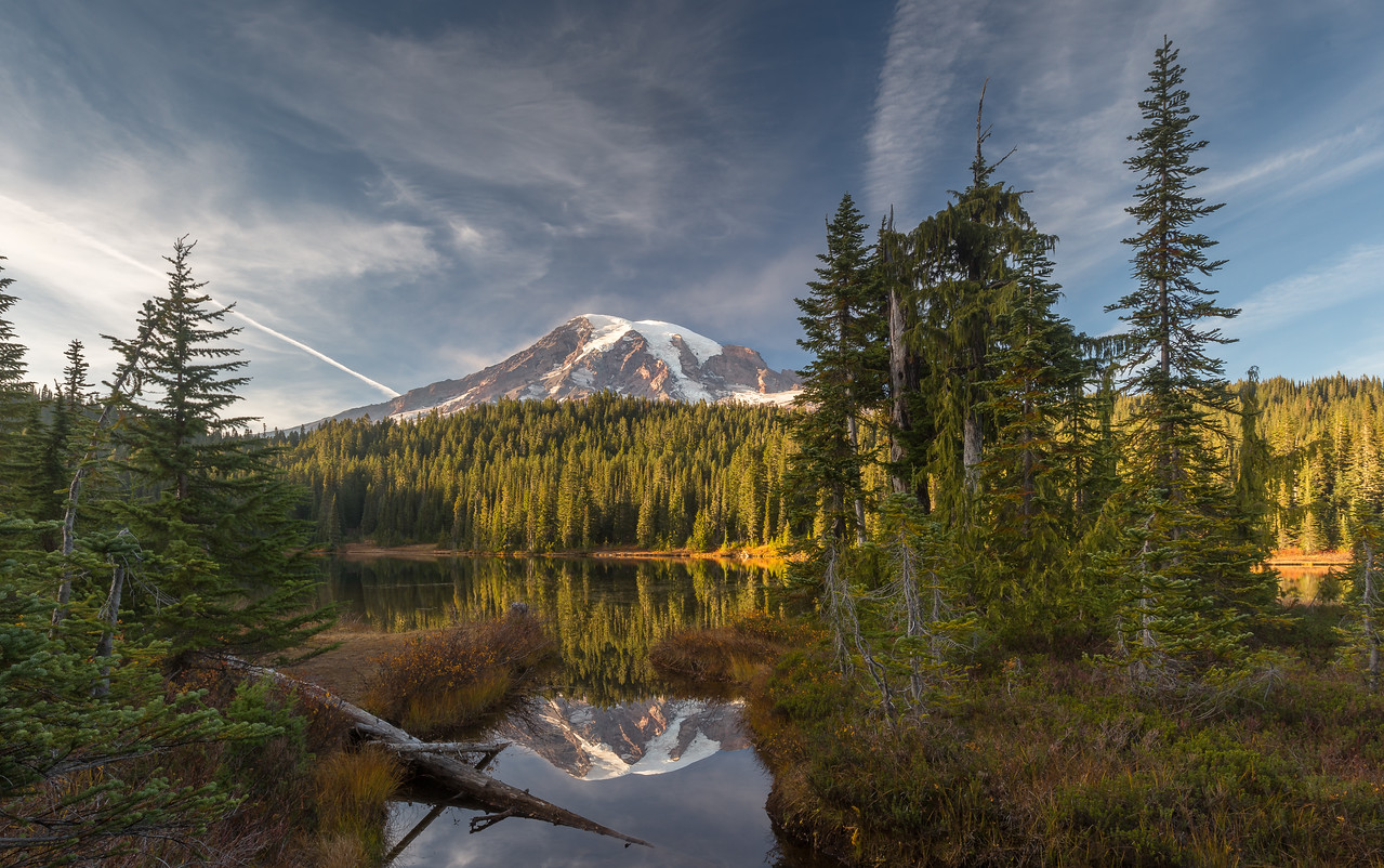 Mount Rainier from Reflection Lake