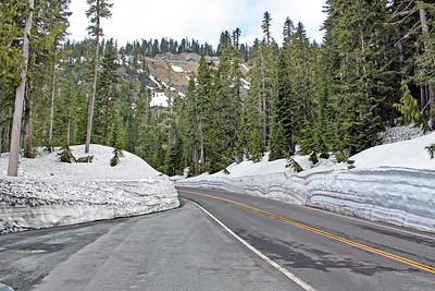 Mt. Rainier highway is open for the season
