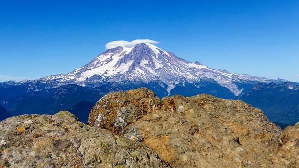 Mt. Rainier From High Rock Lookout