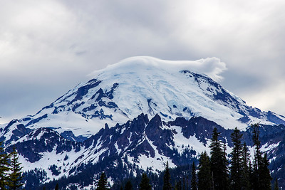 Mt. Rainier's hat