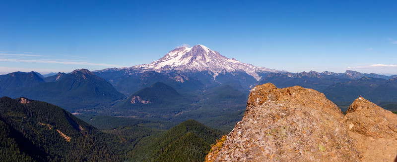 High Rocks and Mt. Rainier