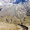 Erosion zone